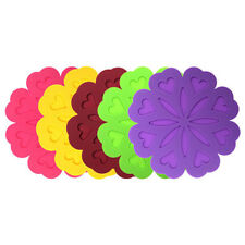 Silicone Insulation Flower Placemat Place Pad Kids Dining Table Kitchen Mat MP