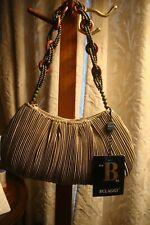 Small Handbag Evening Bag Purse Bulaggi Beaded Handle NWT