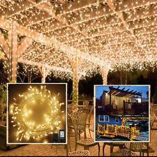 100-400 LED Bulbs Halloween Fairy String Lights Lamps Party Wedding Garden Decor
