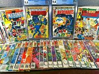 Complete 1979 Series MICRONAUTS 1st Appearance CGC 9.4 Issues 1-59 9.6 9.8 8 NM+
