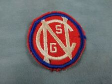 North Carolina State Guard Vintage Military Patch Wwii