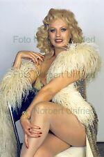 Barbara Valentin - Ledersteger - Foto 20 x 30 cm ohne Autogramm (Nr 2-3