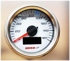 Speedometer Odometer Koso Gp Style D48 White Atv Go-Kart Quad Motorbike Yamaha