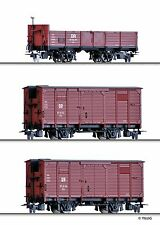 Tillig 05971 H0e Güterwagenset DR EP III NEUHEIT 2016 OVP*