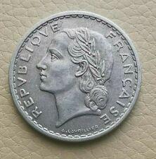 N°42  - 5 Francs. 1952  Lavrillier   RARE
