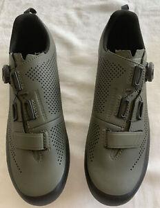 Fizik Terra X5 Green Mountain Biking Shoes 10.5 US 44 Eur.