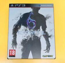 Resident Evil 6 Steelbook Edition GIOCO PS3 VERSIONE ITA