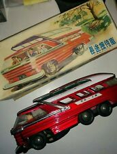 Vintage China Tin Toy Shanghai Touring Bus ME-083
