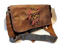 Disney Parks Original Messenger Laptop Denim Pirates Of The Caribbean Tote Bag