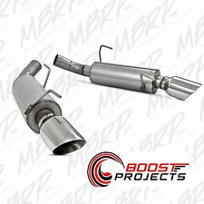 MBRP Dual Mufflers Axle Back Exhaust AL 2005 - 2010 Ford Mustang GT 4.6L S7200AL