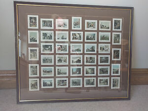 De Riszke 40 Framed Cards, Series 1.