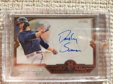 2017 Topps Museum Collection - Dansby Swanson Autograph #d 17/50 Baseball Card