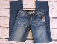 NEW MNG By Mango Boot Cut Billie Blue Jeans Womens Size 8 NWT