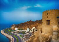 A1| Amazing Gulf of Oman Poster Size 60 x 90cm Landscape Poster Gift #16666