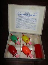 Lot Anciens jeux de société-cochon qui rit-en boite d origine-Pour pieces-1970