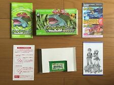 Pokemon Leaf green GBA, COMPLETE, FREE SHIPPING