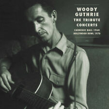 WOODY GUTHRIE- THE TRIBUTE CONCERTS: 1968 &1970 BOB DYLAN JOAN BAEZ PETE SEEGER