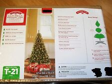CHRISTMAS TREE 6.5' PRE-LIT MADISON PINE( 400 CLEAR MINI-LIGHTS)
