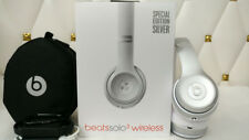Beats by Dr. Dre Solo3 Wireless Over the Ear Headphones special edition - Silver