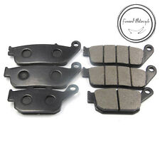 Front+Rear Brake Pads Fit For Honda CBR250/400 CB400 FJS400 NTV600 NTV650 VFR700