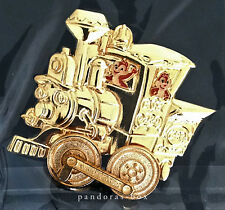 CHIP n DALE Casey Jr Circus Train Disneyland 50th Anniversary GOLDEN VEHICLE Pin