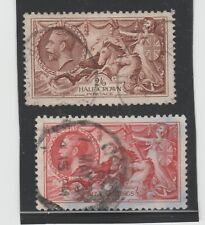 GEORGE V SEAHORSE STAMPS