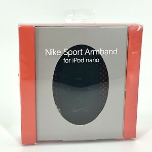 Nike iPod Nano Case Armband - Built in Controls - Black/Red by Nike Sport NEW