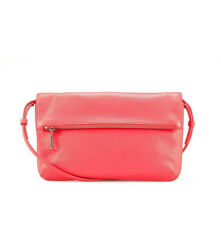 NWT $199 Designer COUNTRY ROAD Trenery Pebbled LEATHER Bag  PINK GRAPEFRUIT