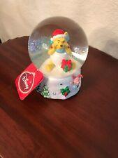 Disney Winnie The Pooh Snowglobe Snow globe. Musical. New Original $80