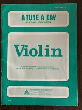 A Tune A Day Violin Book Two Herfurth