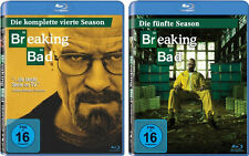 5 Blu-rays * BREAKING BAD - STAFFEL / SEASON  4 + 5 IM SET # NEU OVP <
