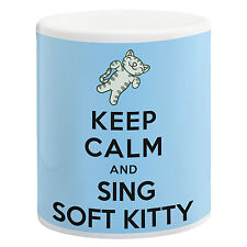 Mantener la calma y cantar Soft Kitty-El Big Bang Theory Cerámica 11 Oz Taza