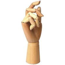 "Jakar Wooden Manikin Hand - 12"" ( Adult ) Life-Size Artists / Shop Manikin"