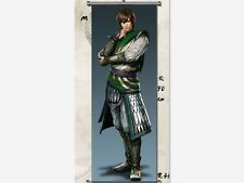 Home Decor Anime  Dynasty Warriors 6 Jiang wei  Poster Wall Scroll  Cosplay