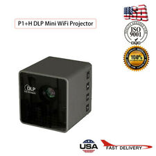 Smart DLP Mini Projector Apple Android WiFi 1080P Home Theater HDMI + Screen