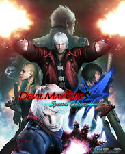 Devil May Cry Game Wall Scroll Poster Officially Licensed CWS-26697 New