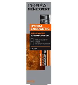 L'Oreal Men Expert Hydra Energetic Anti Fatigue Turbo Boost Gel Moisturiser 50ml
