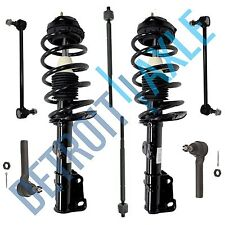 2008-2010 Dodge Grand Caravan Town and Country Front Strut Tie Rods Sway Bar Set