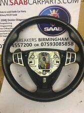 SAAB 93 9-3 SPORT STEERING WHEEL AND RADIO CONTROLS 2008 ONWARDS AUTOMATIC AUTO