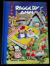 Vtg Original 1939 Raggedy Ann in the Magic Book HC Johnny Gruelle 1st Edition