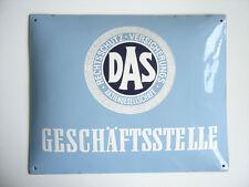 EMAILSCHILD Schild DAS - DAS RECHTSSCHUTZ - VERSICHERUNGS - AG Geschäftsstelle