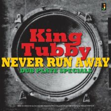 KING TUBBY - Never Run Away LP - Dub Plate Specials - Vinyl - Sealed