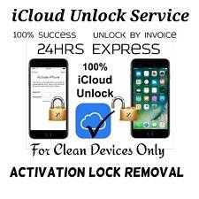 SPRINT VERIZON T-MOBILE ATT IPHONE ICLOUD UNLOCK SERVICE ACTIVATION LOCK REMOVAL