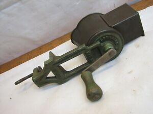Antique Lorraine Metal Crank Kitchen Grinder Cheese Grater Spice Ice Tool