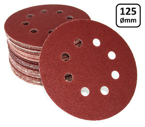 Klett Schleifscheiben 125 mm A86 für BOSCH GEX 125 AC Professional Schleifpapier