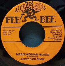 Jimmy Rich Show   Rockabilly 45   Come Go With Me / Mean Woman Blues   Fee Bee