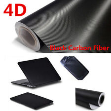 Carbon Fiber Vinyl Car Auto DIY 4D Wrap Sheet Roll Film Sticker Decal