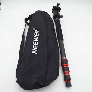 Neewer Professional Telescoping Monopod w Carrying Bag 360 Degree Panoramic Ball
