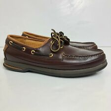 Sperry Top Sider Men's Size 10.5 M Gold Cup Deerskin Brown Leather Boat Shoes