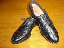 Allen Edmonds Men's Sanford Lace Up Captoe Black Leather Dress Oxford 11.5 A